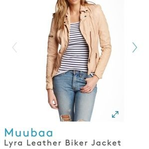 Muubaa Lyra Leather Jacket